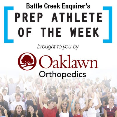 Vote for the Battle Creek Enquirer Athlete of the Week - Week of May 6-11
