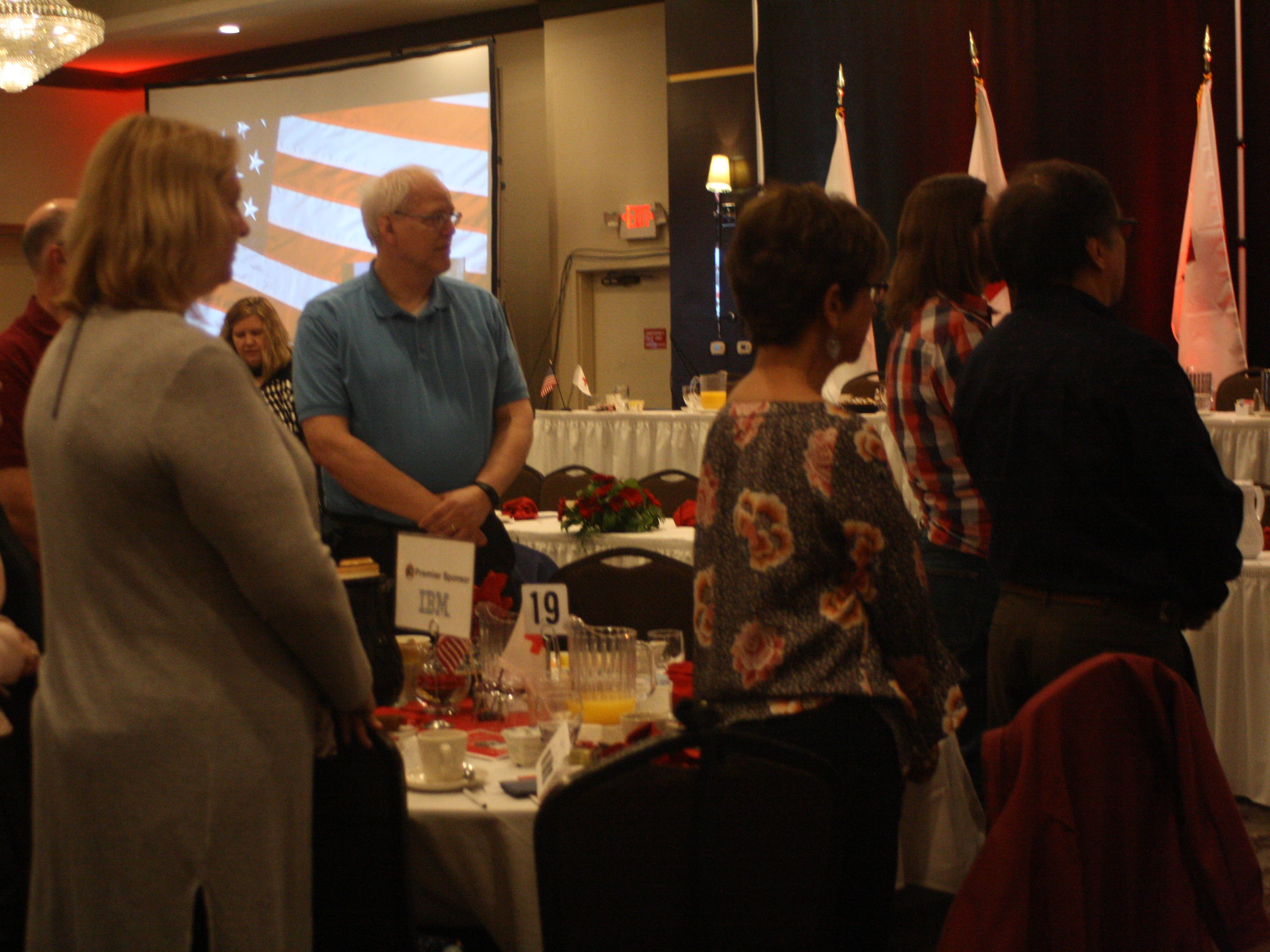 The American Red Cross of the Southern Tier held the 10th Annual Real Heroes Breakfast DoubleTree by Hilton Hotel in Downtown Binghamton Thursday morning.