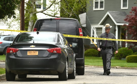 Scene of Apalachin home invasion and homicide on Dorothy Road. May 9, 2019.