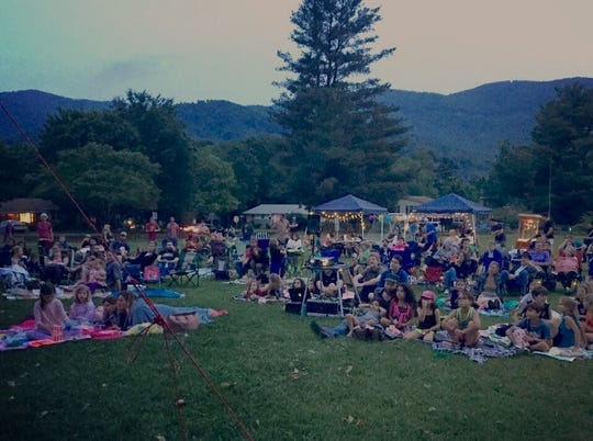Cinema on the Square returns to Grovemont Square in Swannanoa on May 24.