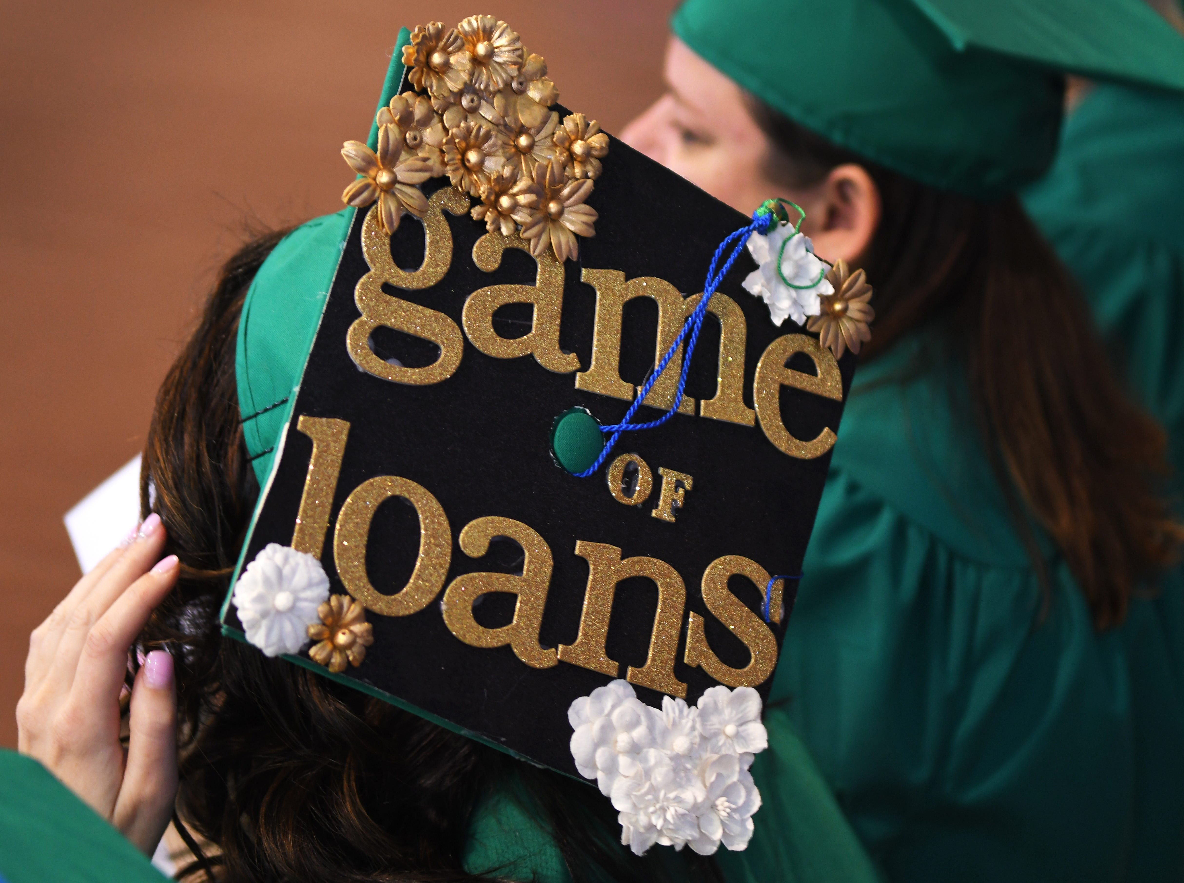 Graduates at the noon Eastern Florida State College 2019 Spring Commencement at the Melbourne campus. An additional commencement was held at 3:00 p.m.