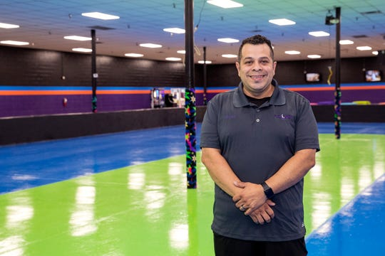 Michael Ruiz, co-owner of Sk8Land Family Fun Center in Aransas Pass, is preparing to open the second location soon. The location was previously two other roller skating rinks, but the last rink didn't reopen after Hurricane Harvey.