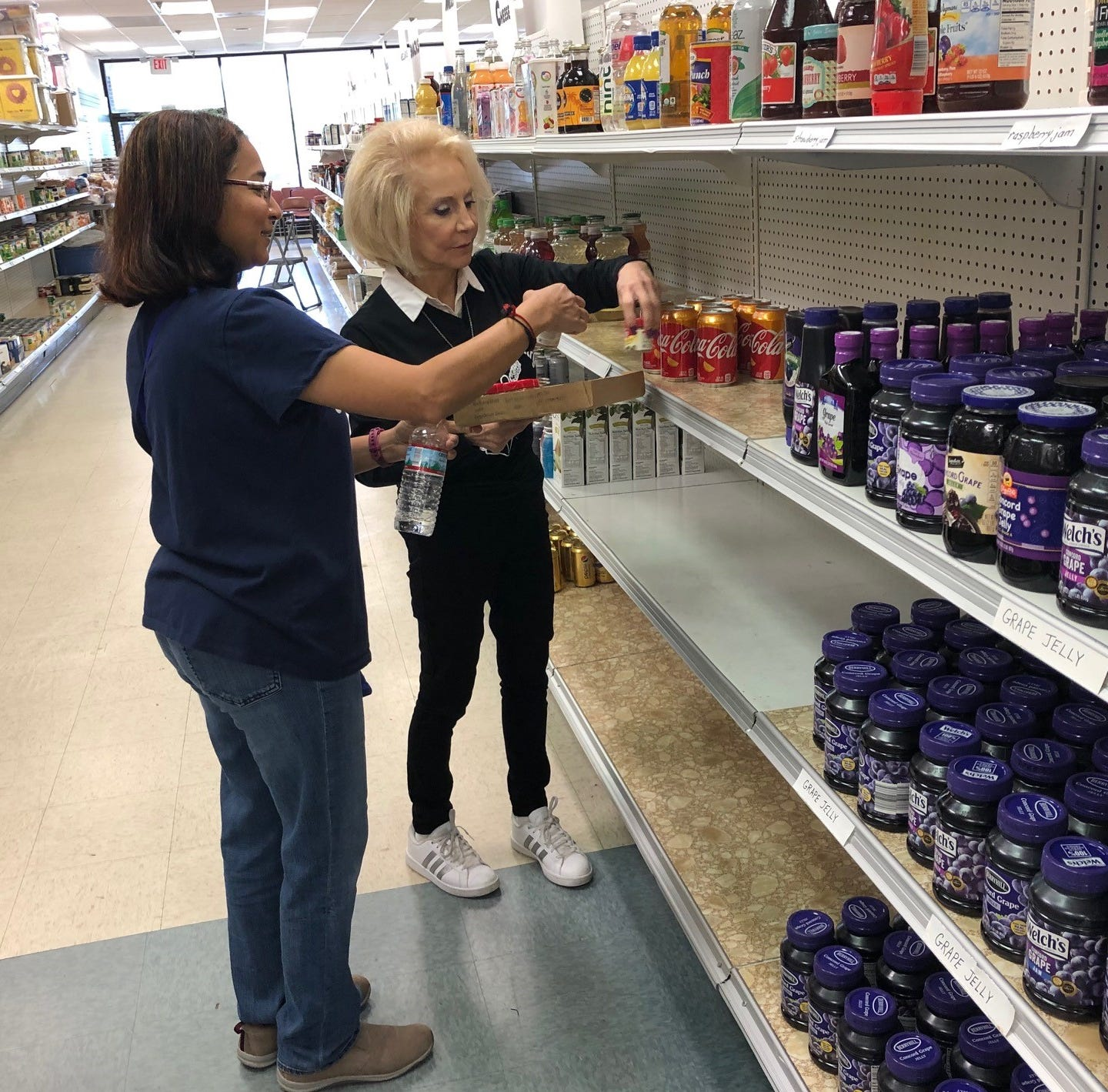 Food pantry, other tenants affected as shopping center prepares for new market