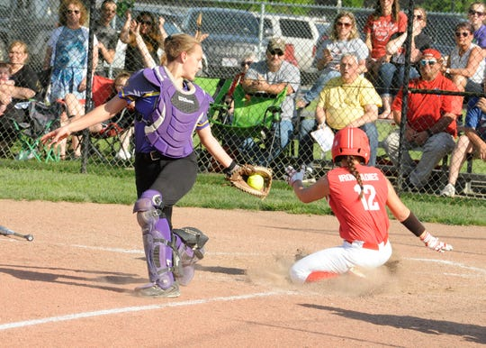 Unioto softball defeated Jackson 5-4 in their first sectional title win since 2015 at Unioto High School on May 8, 2019.