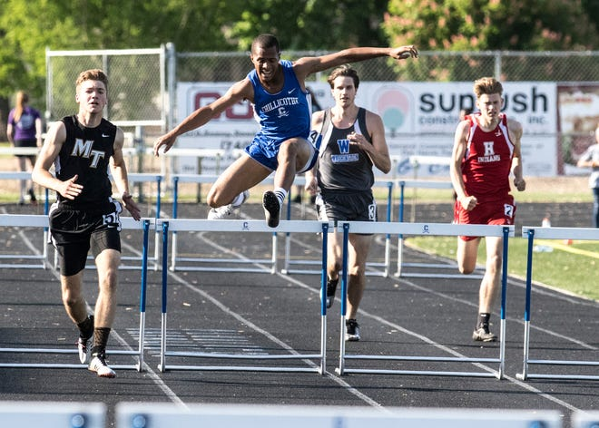 Chillicothe High School track and field competed at the Division I Southeast District Championship on Thursday at Marietta College as some of the Cavs'top athletes qualified for the regional meet.