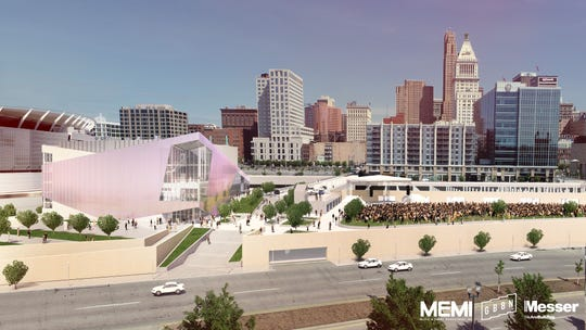 Rendering of the CSO/Memi music venue at The Banks