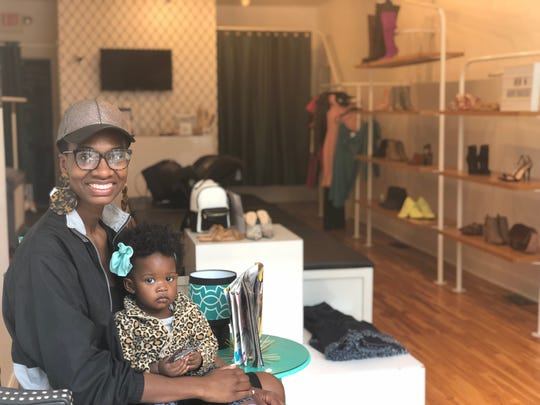 Chanel Scales is a graduate of Mortar's entrepreneurship class and owner of Own Lane Shoetique in Over-the-Rhine.