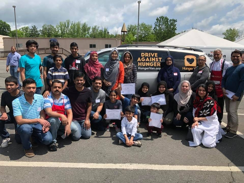 The South-Brunswick Ramadan Sharing Initiative encourages Muslims throughout Central Jersey to share food and kindness with their neighbors to foster peace and understanding.