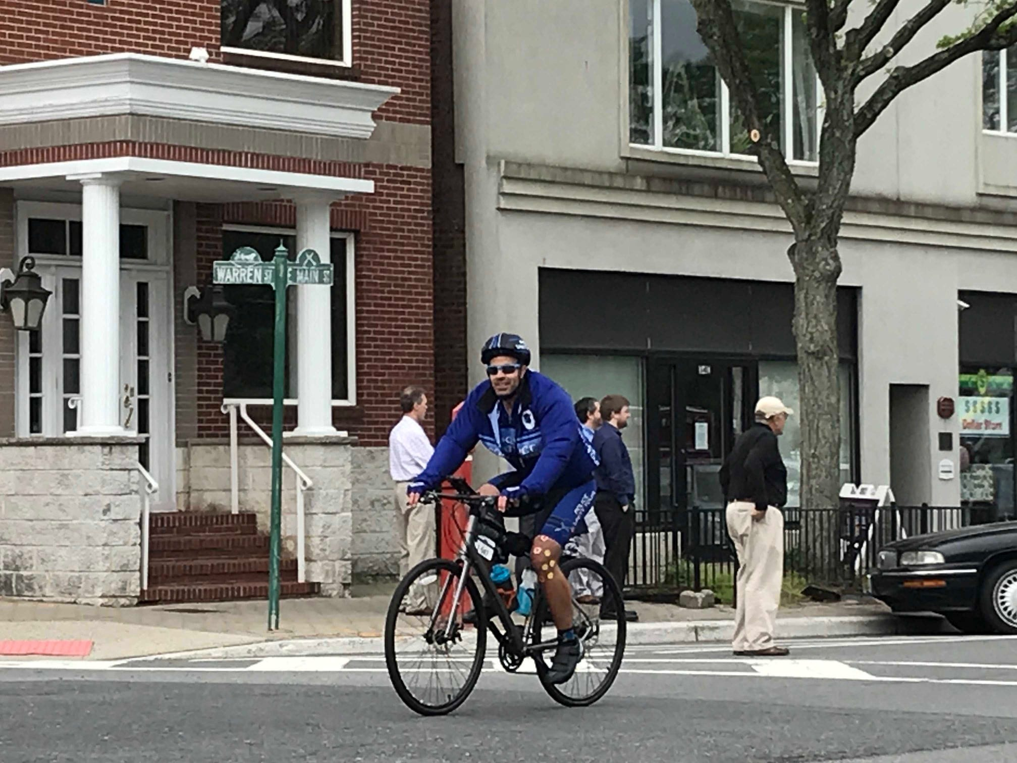 An estimated 600 riders traveled through Somerville Thursday as part of the Police Unity Tour.