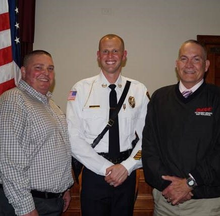 Dunellen Police Department appoints new chief, promotes three officers to higher ranks