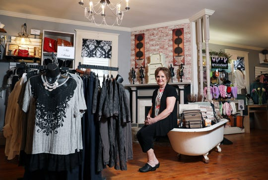 "Katina Beitzel manages Abigail Birch & Company in Roscoe Village. ""I have always loved to shop,"" she said, ""and this is a great opportunity to make someone else have a pleasurable experience."""