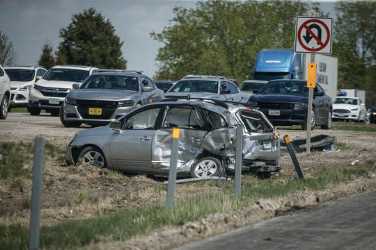 Three children were killed in a traffic accident on Interstate 80 near Coralville on Sunday, May 5. The children were killed after the driver of the car they were in attempted a U-turn and was hit by a semi.