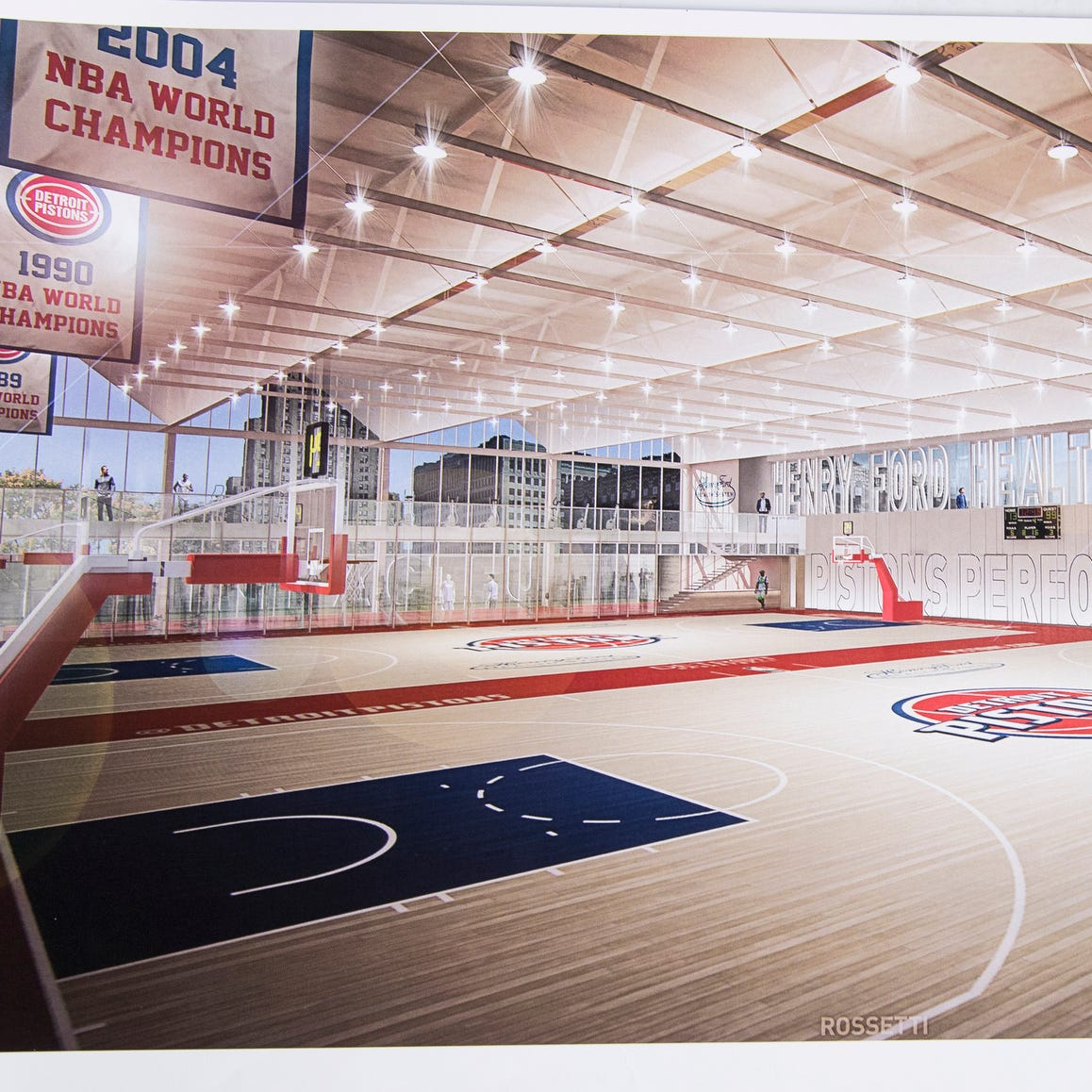 First look at Detroit Pistons training center: 'Accessible in all ways to the public'