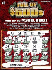 A Genesee County woman recently won $500,000 on a Michigan Lottery Full of $500s instant ticket.