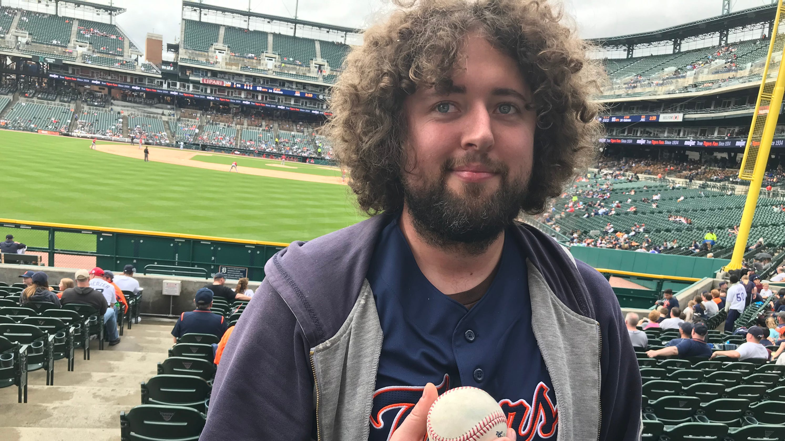 I don't want money': Tigers fan turns down four offers, keeps Albert
