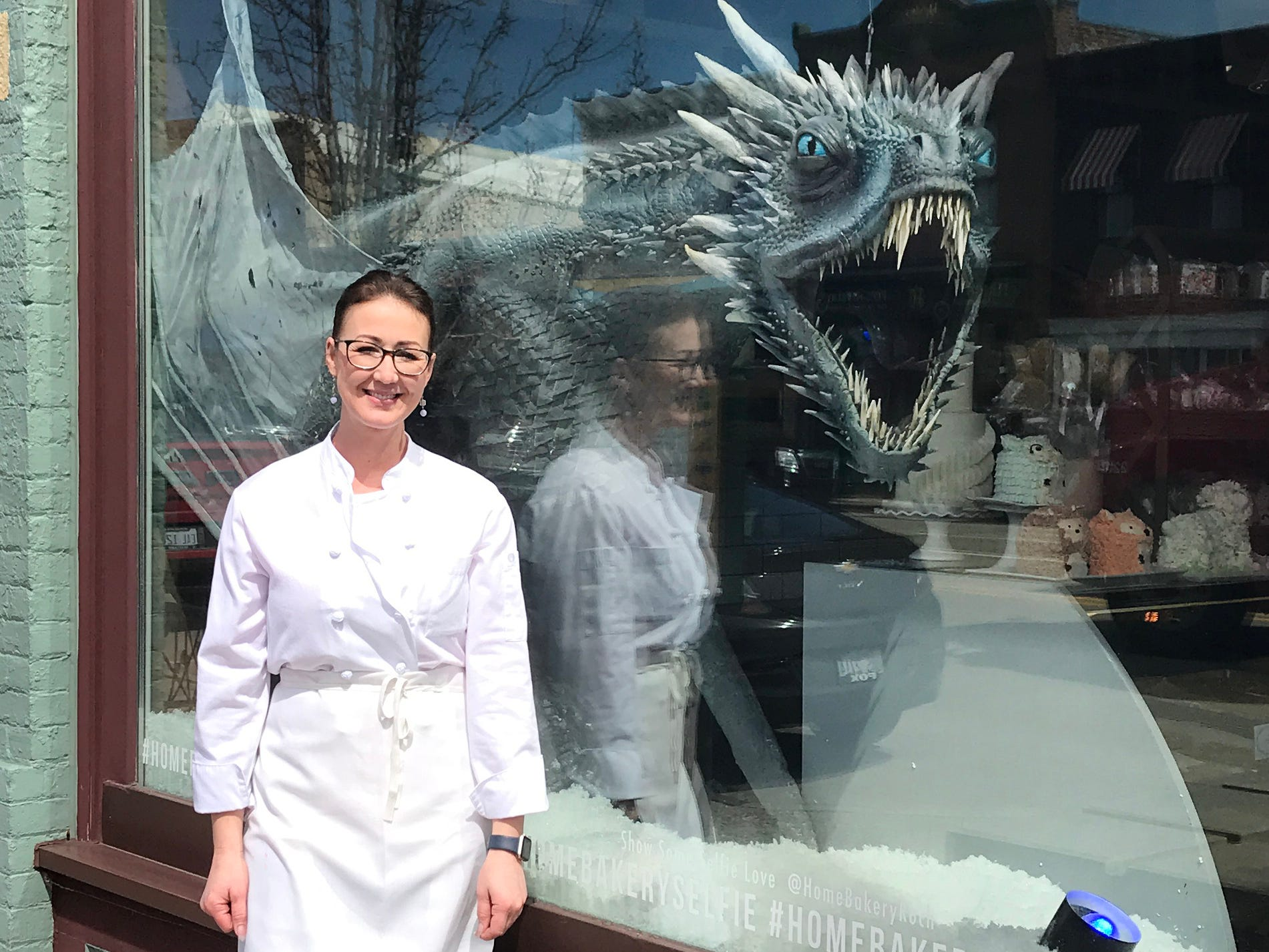 "Home Bakery owner and 'Game of Thrones' fan Heather Tocco said, ""We are all big fans here, big fans. Like, read all the books, watched and re-watched the series big fans."""