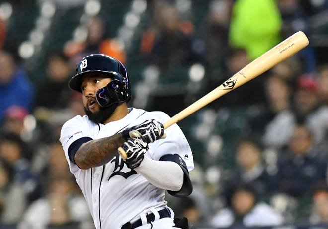 Ronny Rodriguez leads the Tigers with six home runs and ranks second with 19 RBIs this season.