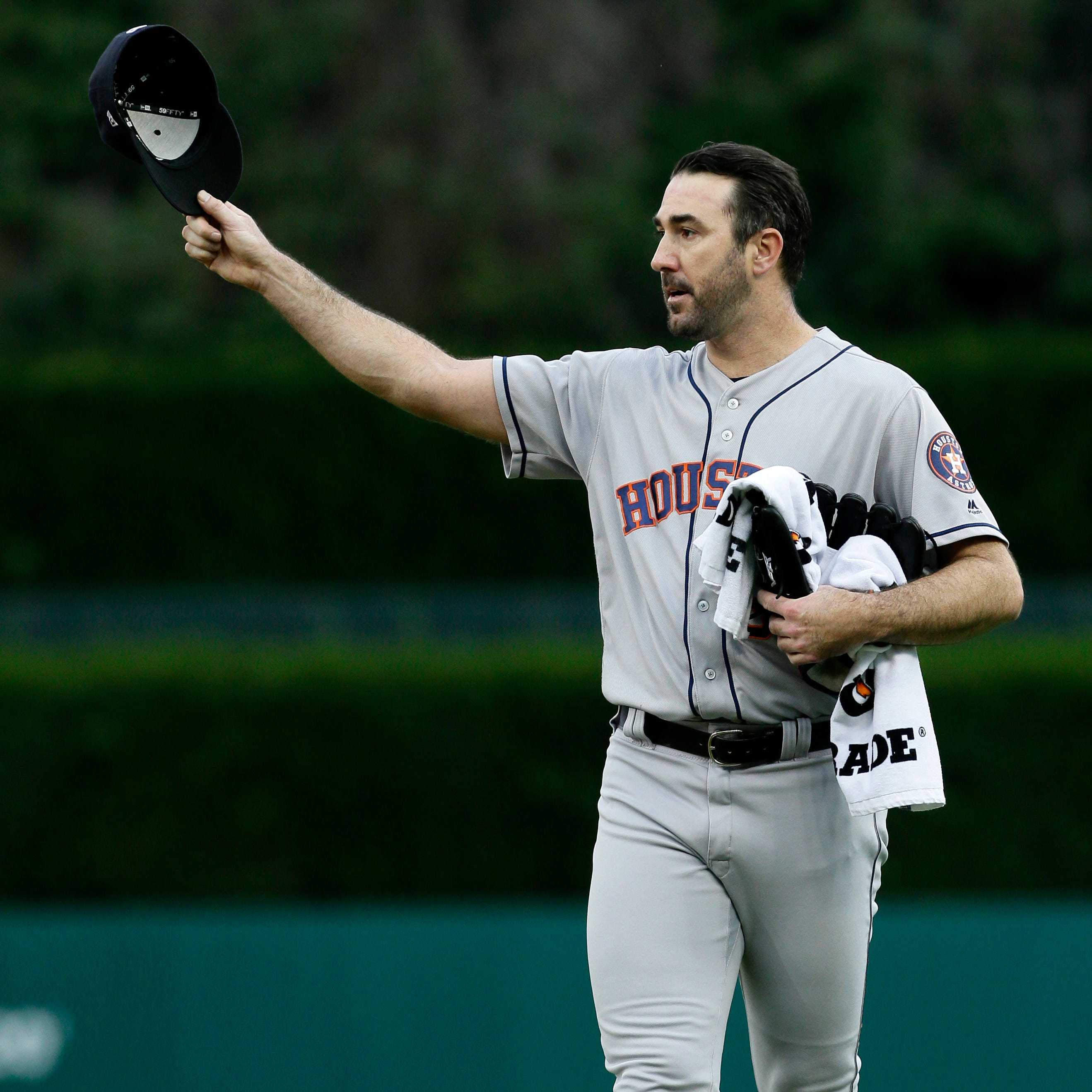 Hello, old friend: Justin Verlander in line to pitch in Detroit next week