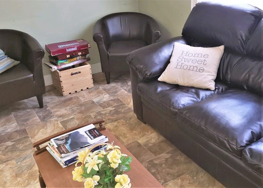 The Second Place East homeless shelter in Elmira purchased a new couch and chairs with some of the more than $12,000 in spare change that was donated.