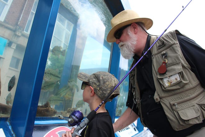 The 3rd Annual Fremont Fishing & Outdoor Festival is scheduled for May 18 in downtown Fremont.  The event includes a 2,500 gallon fish tank fully stocked with game fish and a number of displays and vendors.