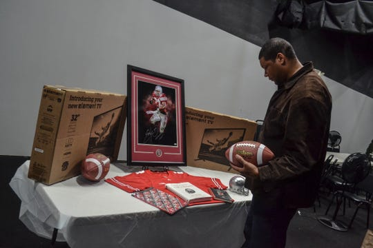 Robert Carter, owner of Journey's Family Amusement Center, has hosted over 1,000 free parties and donated over $70,000 to local organizations since the center opened in 2011. A June 14 benefit featuring former OSU national champion coach Jim Tressel and two-time Heisman trophy winner Archie Griffin will help ensure that impact on the community continues.