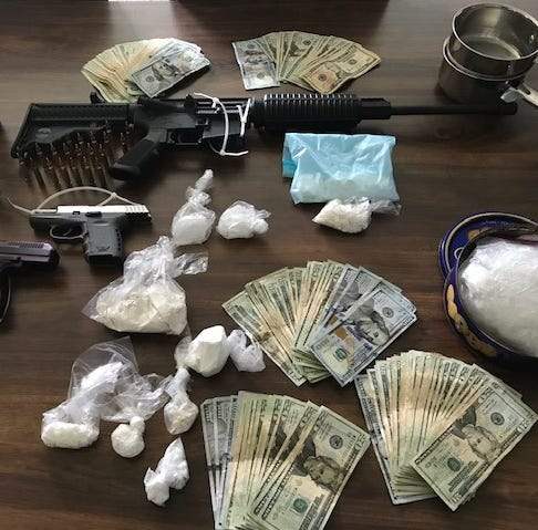 Drug bust: 19 arrested in Lee County, meth, fentanyl, cocaine seized