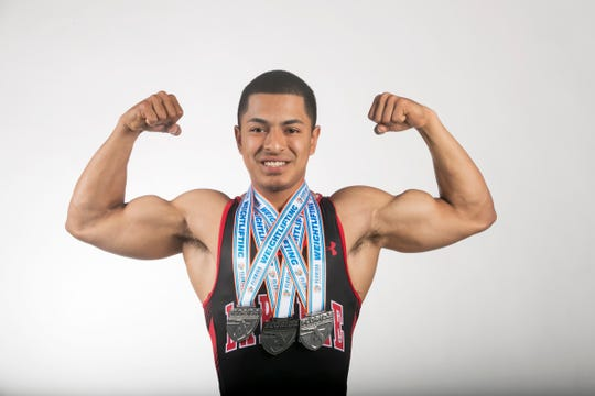 Jaime Deras, LaBelle, Weightlifting, Spring All-Area athletes