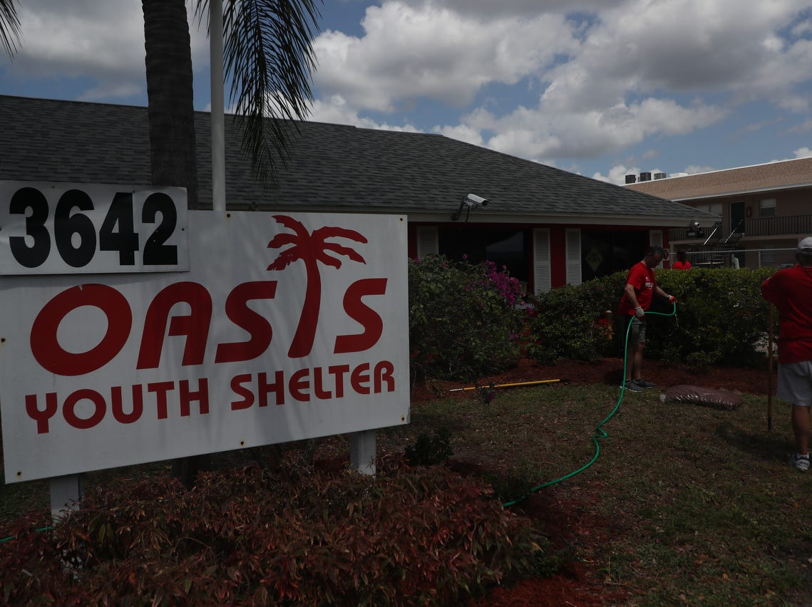 Every year, Keller Williams Realty shuts down their entire company internationally and reaches out to a community to facilitate Red day. This year, Keller Williams Fort Myers and the Islands have chosen Oasis Youth Shelter. They are doing a one-day massive makeover of the shelter that houses at risk youth and runaways.