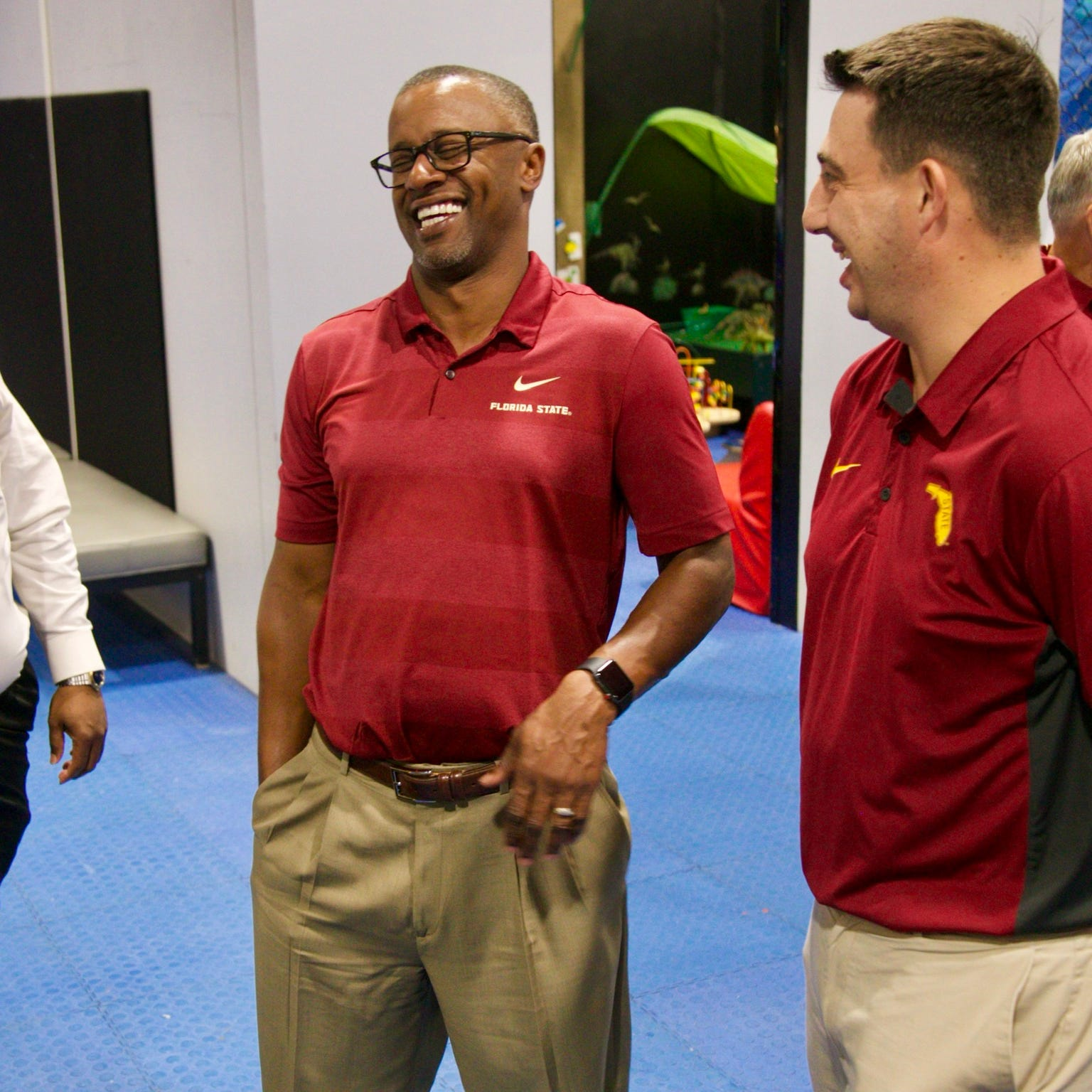 Florida State coach Willie Taggart discusses state of the program during Fort Myers trip