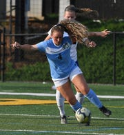 JL Mann's Lindsay White (4) J.L. Mann plays Lexington during the girls AAAAA State Championship in Columbia in this 2018 photo.