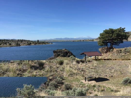Devil's Elbow campground, Hauser Lake.