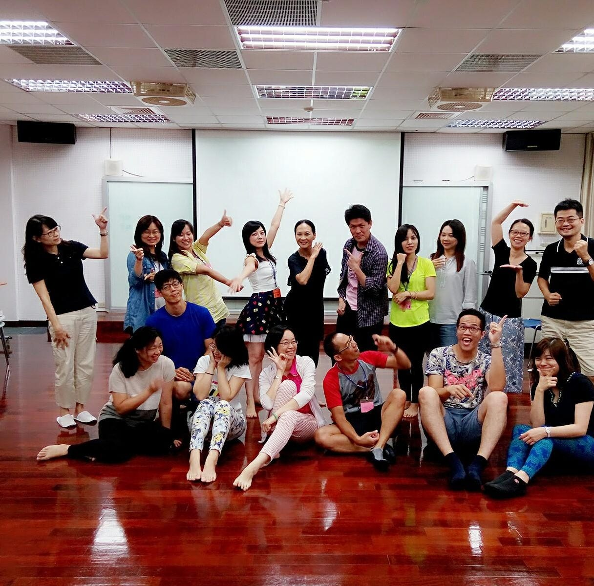 Taiwan dance professor holds free creative dance workshop at The Hive