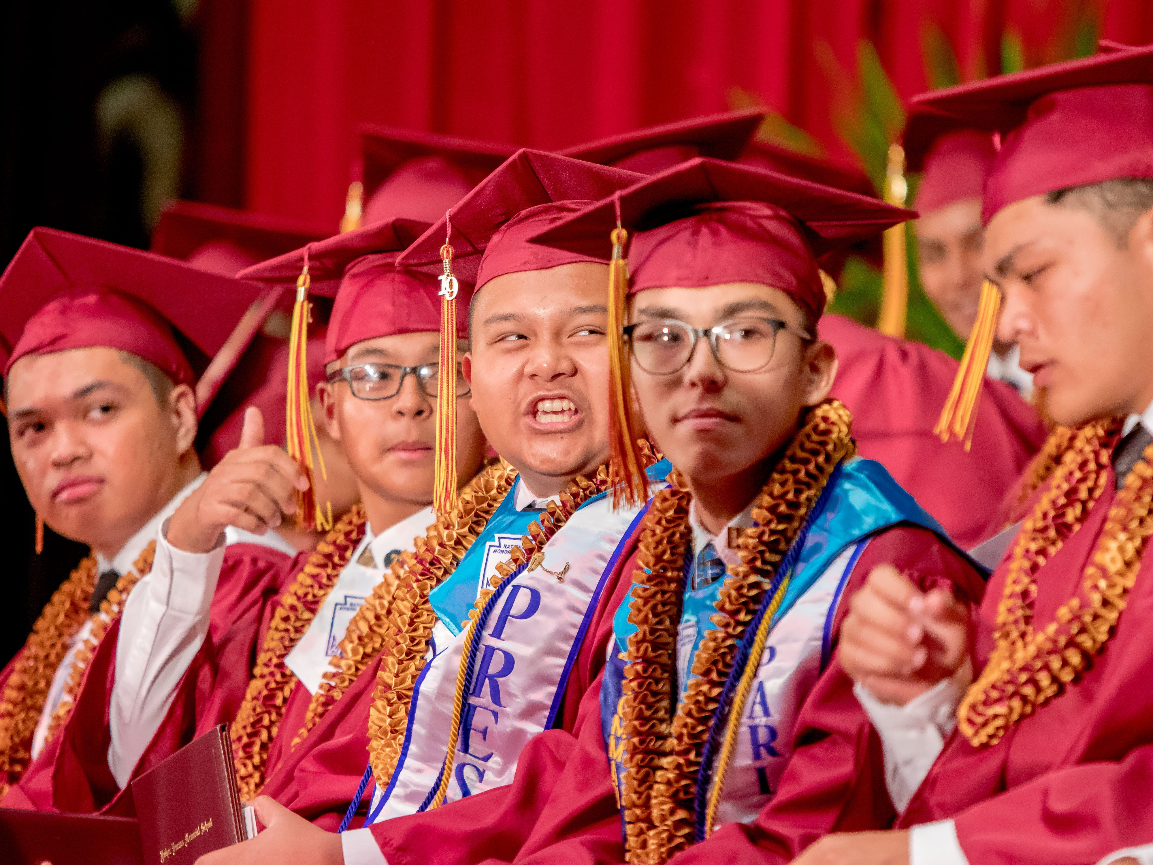 Father Duenas Memorial School held the Class of 2019 commencement ceremony at the Phoenix Center on Wednesday, May 8, 2019.