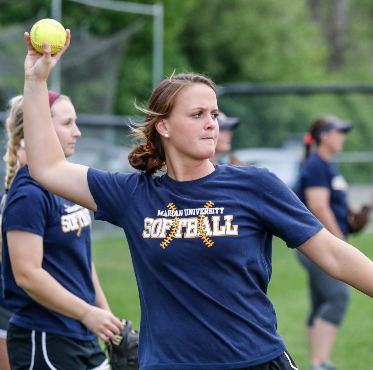 An unbelievable 49-0: Marian is only undefeated college softball team in U.S.