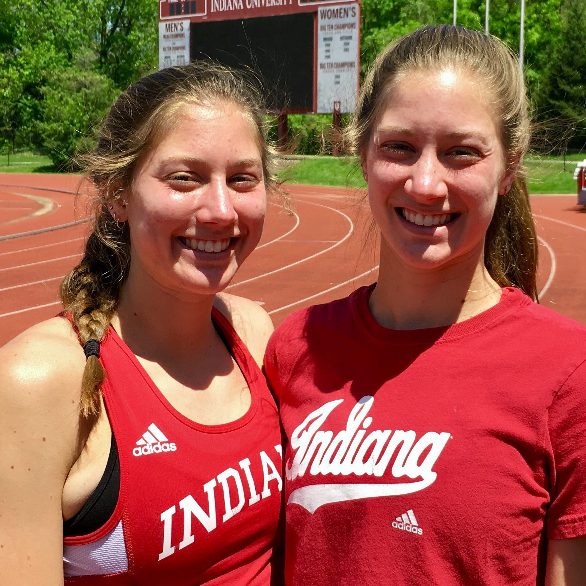Carmel's Harris twins were into swimming and softball, then made track history at IU
