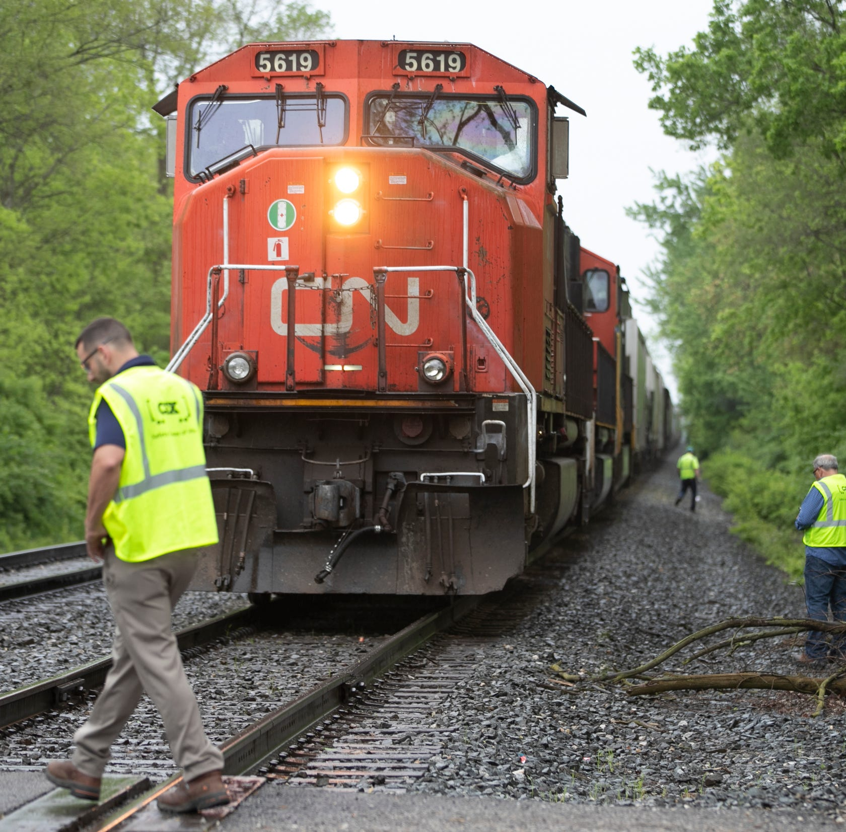 Woman hit, killed by train on west side