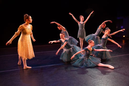 "UI Youth Ballet and Community Dance School stages their spring concert show: ""The Nightingale."""