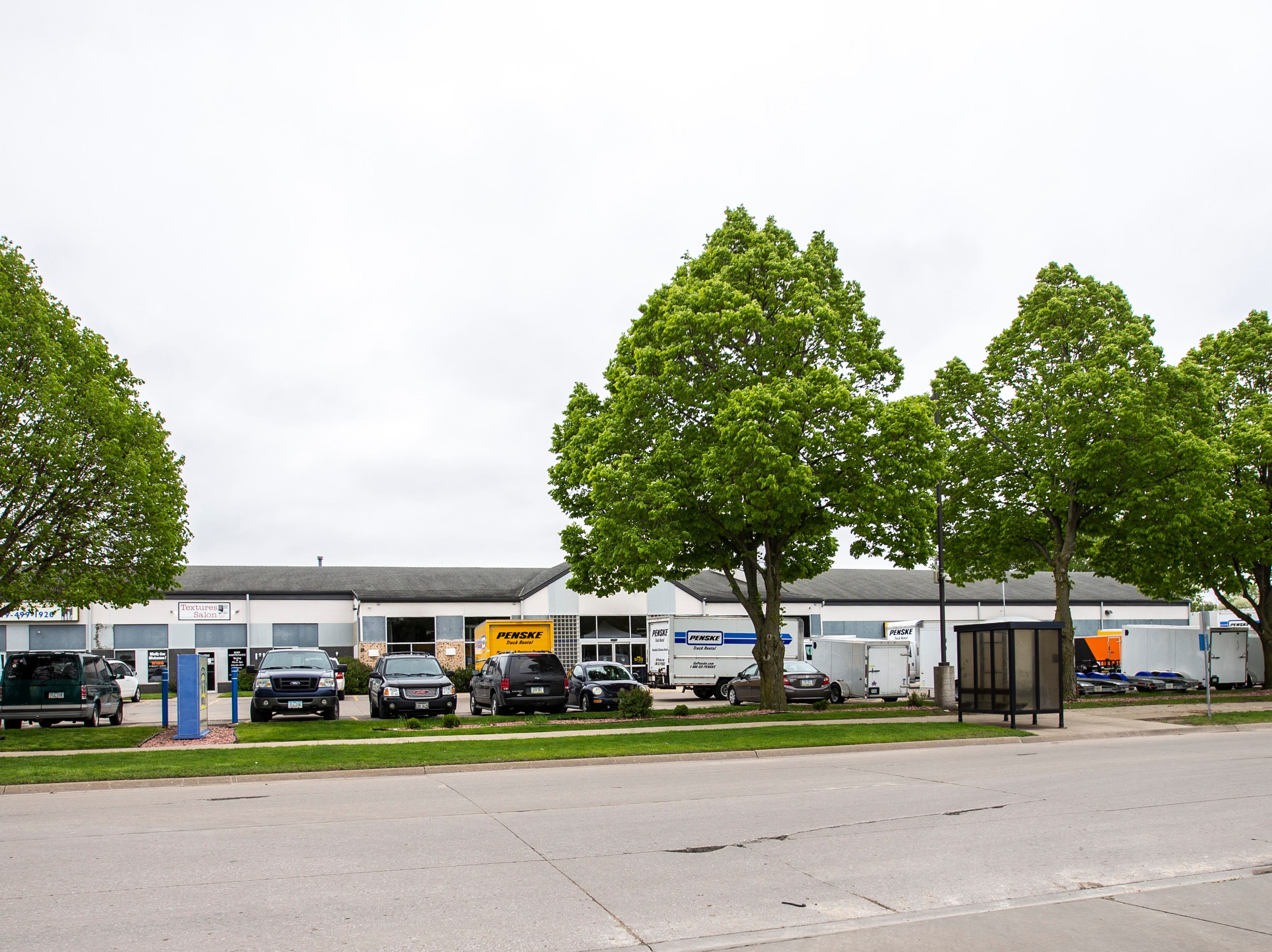Big Ten Rentals is pictured, Thursday, May 9, 2019, at 1820 Boyrum Street, south of Highway 6 in Iowa City, Iowa.