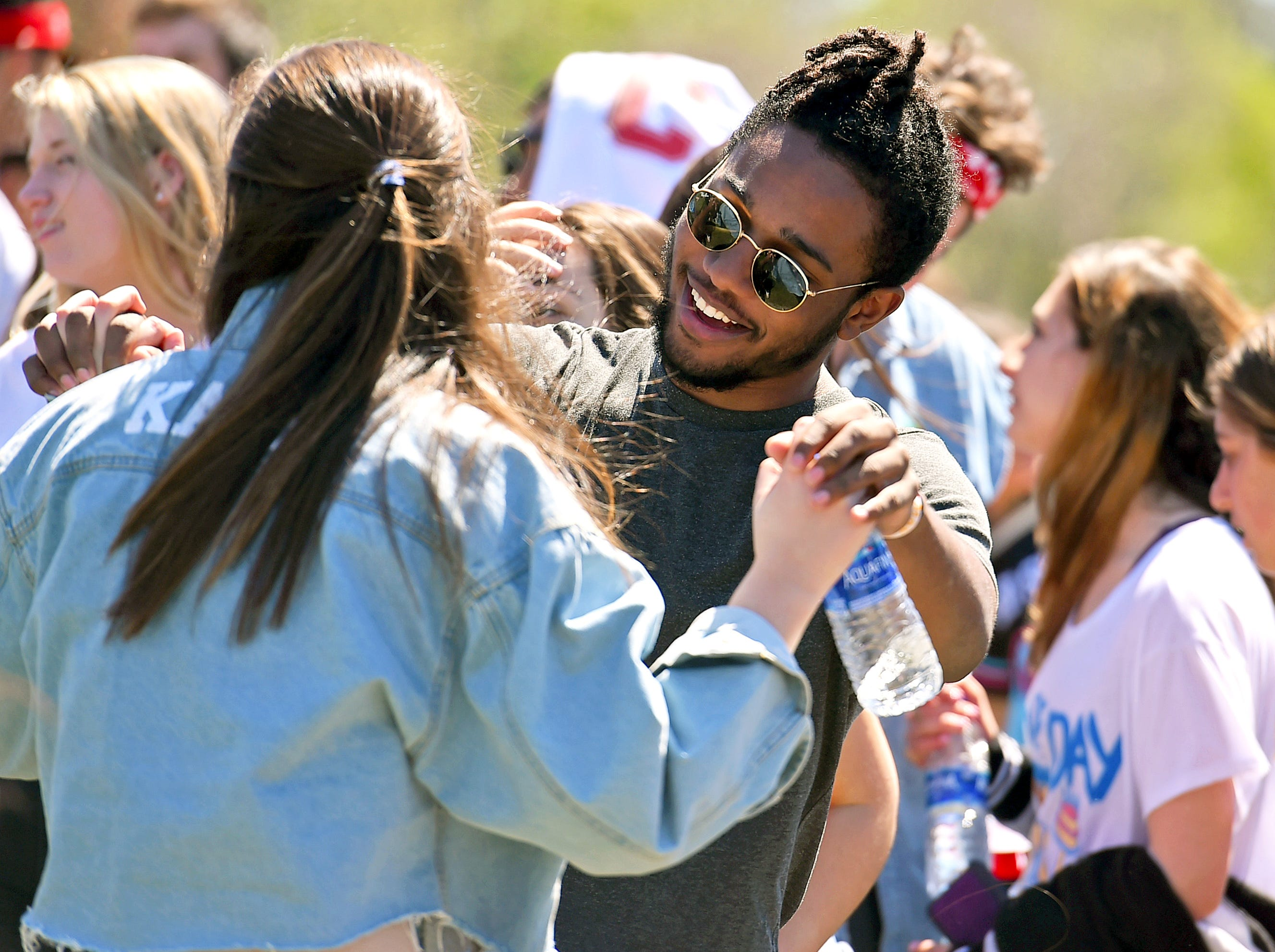 Slope Day 2019 at Cornell University featured music by Steve Aoki, Cousin Stizz, and EZI. May 8, 2019