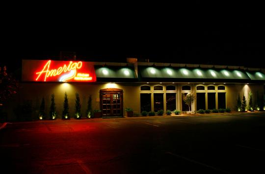 Outside view of Amerigo 'An Italian Restaurant'/Facebook
