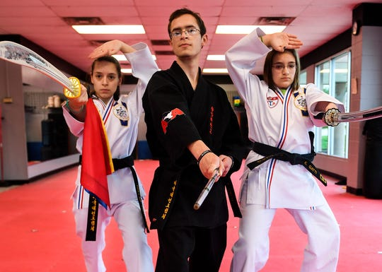 Hannah, Joshua, and Esther Gatti are 2nd degree black belt students at ATA Martial Arts in Jackson. Their brother, Tennessee Highway Patrol State Trooper Matthew Gatti who died on May 6, was a major part of their lives.