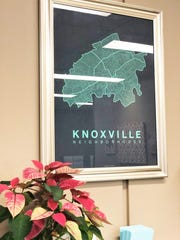 The City of Knoxville Office of Neighborhoods is downtown in the City and County Building.