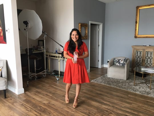 Saray Taylor-Roman in her Downtown West photography studio. May 7, 2019