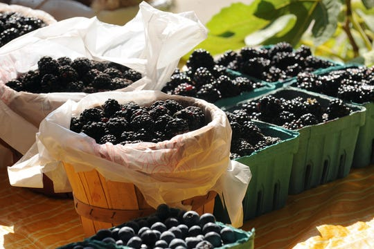 Lafayette's Hub City Farmers Market and the Lafayette Farmers and Artisans Market are in full swing Saturday morning.
