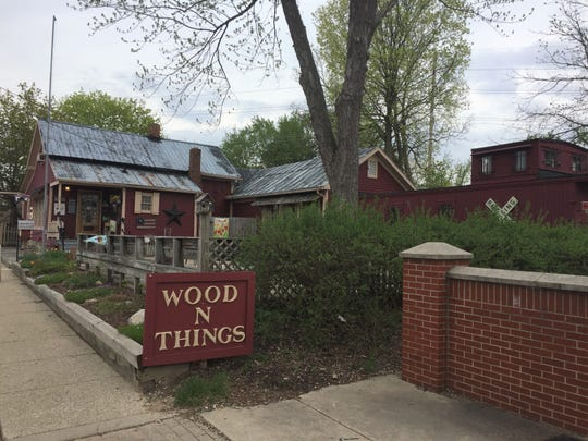 Brighton shop Wood 'N Things, shown Thursday, May 9, 2019, is one of several locations that will be featured in a Christmas movie being filmed in town.