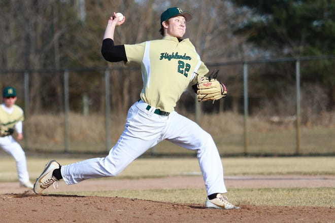 Howell's Luke Russo struck out 14 batters and drove in the winning run in the ninth inning of a 6-4 victory over Novi.