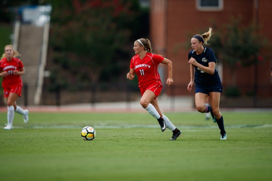 Kasey Jamieson finished her first season at Liberty University with three assists. After a decorated high school career at Lansing Christian, Jamieson will be among Lansing United's key players this summer.