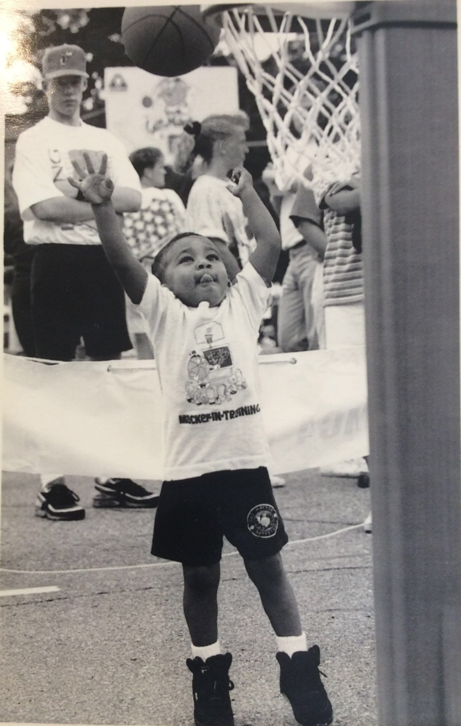 People of all ages have participated in Gus Macker basketball tournaments since they started in 1974 in Lowell, Michigan.