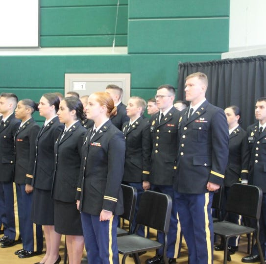 MSU celebrates ROTC graduates at Spring 2019 commissioning ceremony