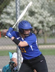 Ontario's Halle Ciroli drilled a grand slam home run in the third inning of the Lady Warriors' dramatic 9-8 win over Pleasant on Wednesday.